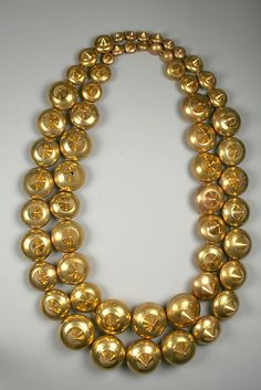 ... , 3Rd 7Th, Gold Necklaces, 7Th Century, Peru Necklace, Gold Peru