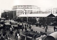 Mercado de la Cebada, 1929 - Portal Fuenterrebollo