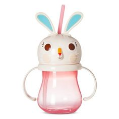 www.target.com p kids-bunny-sippy-cup-9-85oz-plastic-pink - A-51407087