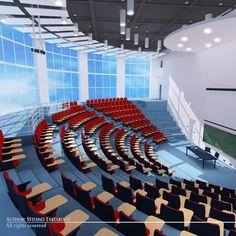 Lecture Hall 3D Model - 3D Model