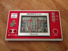 Nintendo Game and Watch *MARIO CEMENT FACTORY* RARE 1983 *Include Batteries* | eBay