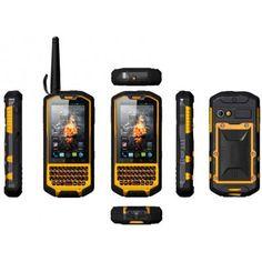 "Rugged Android 4.0 Phone ""Runbo X3"" - 3.5 Inch Screen, QWERTY Keyboard, 1GHz Dual Core, Dual SIM, Waterproof, Walkie Talkie"