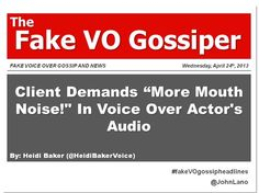 Fake Voice Over Gossip and Headlines Saturday, March 2013 Stephen Thomas, Sam Shepard, Mike Rowe, Will You Go, Morgan Freeman, Shake Hands, Talent Agency, Voice Actor, Gossip