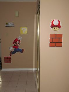 Mario brothers party ideas features beautiful colorful display and providevarious Mario brother games such as a Mario bomb game, Mario brother's relay race.