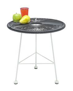 De bijzettafel Bahia Black Eco van Kare Design is geschikt voor binnen en buiten! Bestel de tafel bij Furnies.nl!