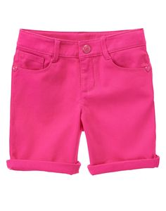 Cuffed Bermuda Shorts at Gymboree   Collection Name: Ciao Puppy (2015)