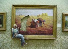 humor, Banksy, Painting, Picture Frames, Women, Galleries, Artwork, Walls HD Wallpaper Desktop Background