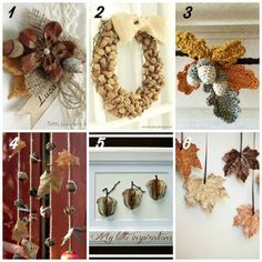 My Little Inspirations: {12 Fall Crafting Ideas}