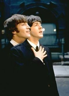 John and Paul were never as close as they appeared publicly. On the road, John would room with George, and Paul would room with Ringo.