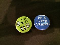 Brit Soc Imm on Twitter: Which are you? #superspreader #ivegotflu at #su2014 @NHM_London