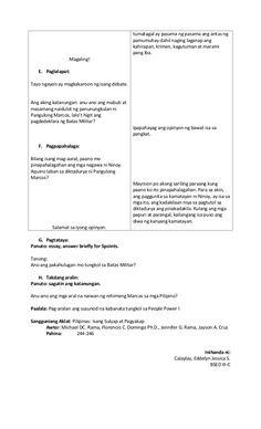 Banghay aralin sa A.P I Lesson Plan Pdf, Lesson Plan Format, Lesson Plan Examples, Daily Lesson Plan, Teacher Lesson Plans, Classroom Bulletin Boards, Classroom Decor, Lesson Plan In Filipino, Frame Border Design
