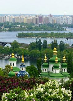 Kyiv, the capital city of Ukraine.