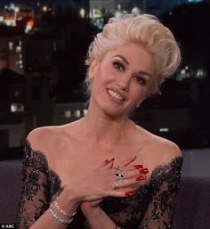 Opening up: Gwen Stefani appeared on the Jimmy Kimmel Live show on Tuesday night