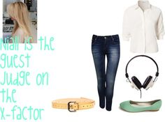 """Niall is the guest judge on the X-factor"" by foreveryoungonedirection ❤ liked on Polyvore"