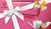 #Cooking #shopping Pour tout achat un fouet électrique vous est offert pour votre fidélité à Cooking-shopping