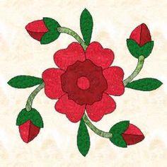 Rose Applique Patterns – Catalog of Patterns