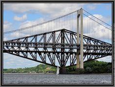 Pont les deux ponts de quebec