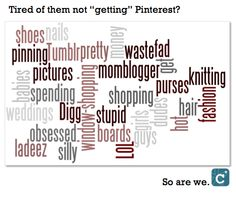 Why are articles about Pinterest so sexist? (We offer some pointers. Ahem.)   #clevergirls