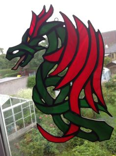Celtic dragon by Robin Cameron