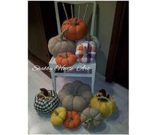 Zucche ornamentali create da Paola Maugeri