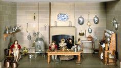 'Killer Cabinet - kitchen detail'. England, 1835-1838