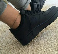 Flat Black Air Force Ones. Have them ; love them.