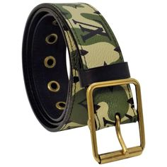 most wanted Louis Vuitton camouflage belt | From a collection of rare vintage belts at https://www.1stdibs.com/fashion/accessories/belts/