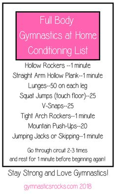 Gymnastics Conditioning, Gymnastics At Home Workouts, Skill tips, Drills and Progressions for Coaches and Gymnasts. Gymnastics At Home, Gymnastics Workout, Gymnastics Conditioning, Conditioning Workouts, Jump Squats, Lunges, Gymnastics Problems, Stay In Shape, Inspired Homes