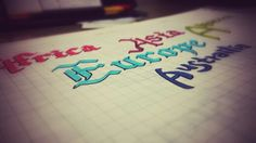 Practice. Calligraphy by jason kim