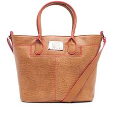 Kenneth Cole Reaction Vesey St. Shopper Vachetta/Coral up to 70% off | Handbags | Little Black Bag