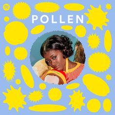 POLLEN POLLEN is a Spotify playlist built to expose and support the best new art. With a truly multi-genre, inclusive perspective, the POLLEN. Poster Art, Poster Prints, Web Design, Layout Design, Matisse Cutouts, Album Design, Graphic Design Posters, Grafik Design, New Artists