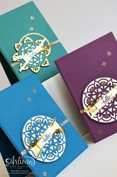 The Stamping Blok: Stampin' Up! Artisan Blog Hop | Introducing Eastern Palace Suite