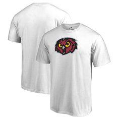 Temple Owls Fanatics Branded Primary Team Logo T-Shirt - White