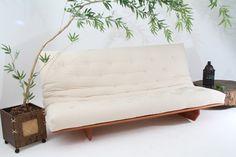 Sofá cama Futon modelo L 1,90m 1,30m  Duas posições: Cama casal e sofá para até 4 lugares