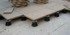 VersiJack Deck & Paver Pedestal System Details raised pedestal pavers
