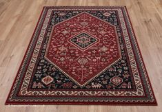 Classic Rugs, Types Of Rugs, Wool Rugs, Red Rugs, Traditional Rugs, Shades Of Red, Red Black, Bohemian Rug, Pure Products