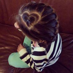 Bella's heart braid