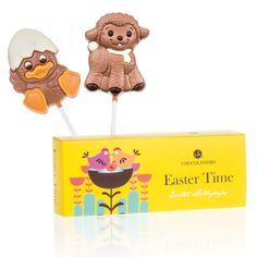 Easter Lollipops #Ostern #Schokolade #Geschenkidee