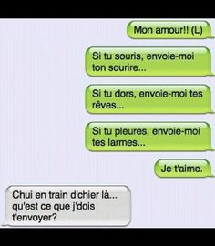 ouais from the story Sms ( Humour, Clash. Funny Texts, Funny Jokes, Hilarious, Fun Sms, Funny Images, Funny Pictures, Rage Comic, Funny Dialogues, English Jokes