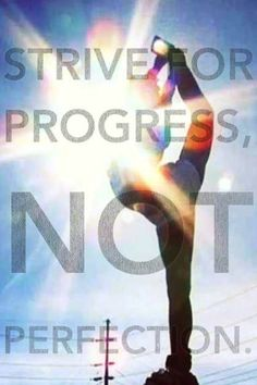 cheer quotes I've always been made fun of because I'm not flexible! This just shows to prove that I don't have to be perfect to do something that I love! Cheerleading Quotes, Gymnastics Quotes, Cheer Quotes, Cheer Sayings, Dance Sayings, Cheer Pics, Cheer Coaches, Cheer Stunts, Cheer Dance