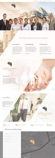 Branding, Layout Website and Logodesign on Behance