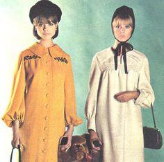 Pattie Boyd and Samantha Juste, 1964.