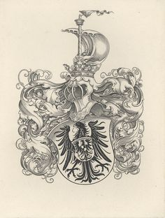 Armorial bookplate