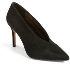 9b93bf3b92d Women s Vince Camuto Ankia Suede Pump -A V-shaped topline accentuates the  streamlined silhouette of a contemporary pointy-toe pump fashioned from  supple ...