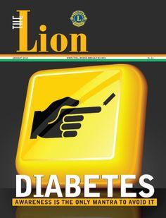 Lion India Magazine > Lions Clubs International Lions International Logo, Club International, Club Magazine, Lion Images, Diabetes Day, Lion Poster, Blue Friday, Diabetes Awareness, Go Blue