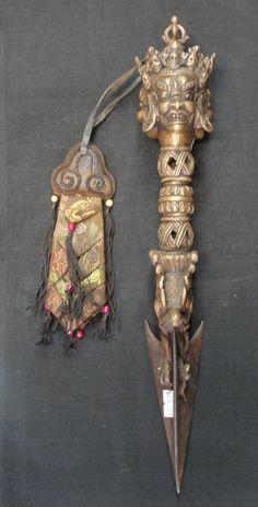 Phurba ritual dagger