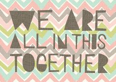 beautiful reminder :: together print by hillarybird on Etsy