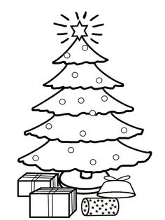 Holiday coloring pages Printable Christmas Coloring Pages 2016 - World Of Makeup And Fashion Book Christmas Tree, Christmas Tree Coloring Page, Christmas Tree Template, Christmas Coloring Sheets, Printable Christmas Coloring Pages, Colorful Christmas Tree, Christmas Printables, Christmas Colors, Christmas Fun