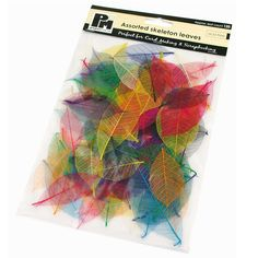 Buy Papermania Assorted Skeleton Leaves 120 Pack at The Range