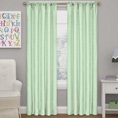 Kids Thermal Blackout Rod Pocket Curtain Panel
